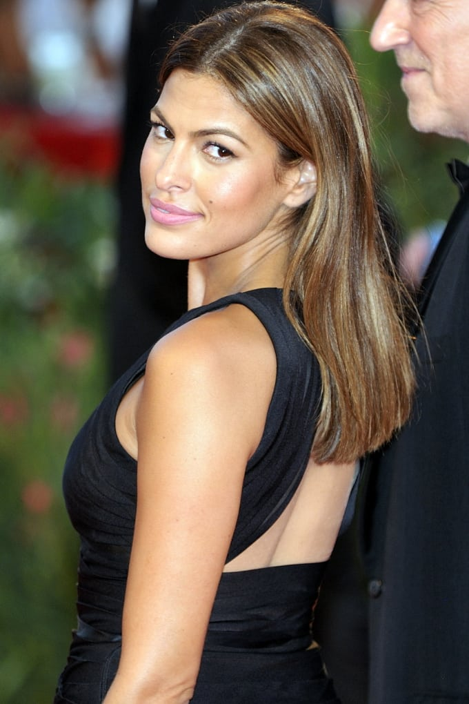 Eva Mendes Hot in Black