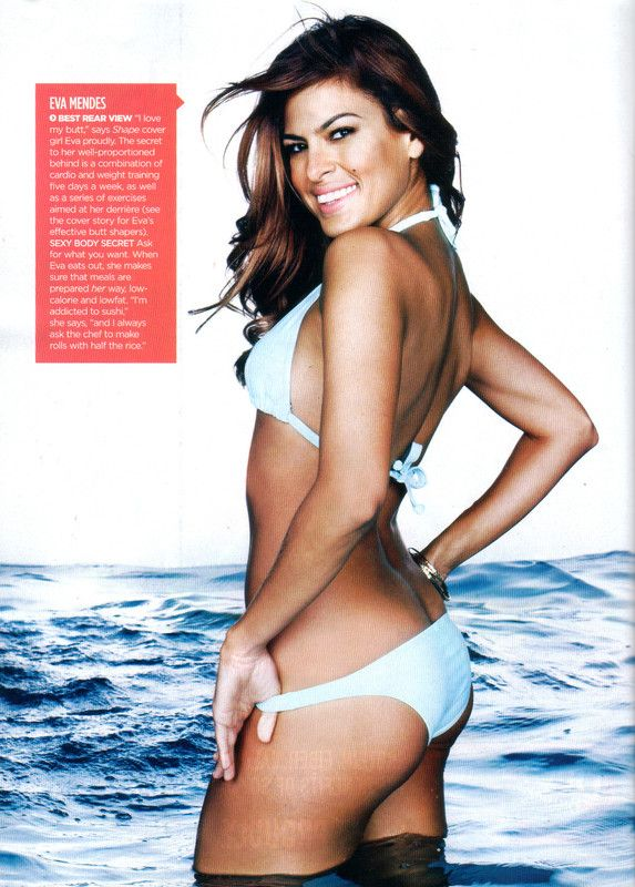 Eva Mendes Hot in Bikini