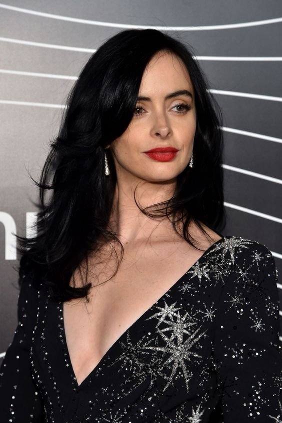 Krysten Ritter Red Lips