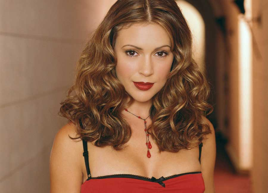 Alyssa Milano on Photoshoot