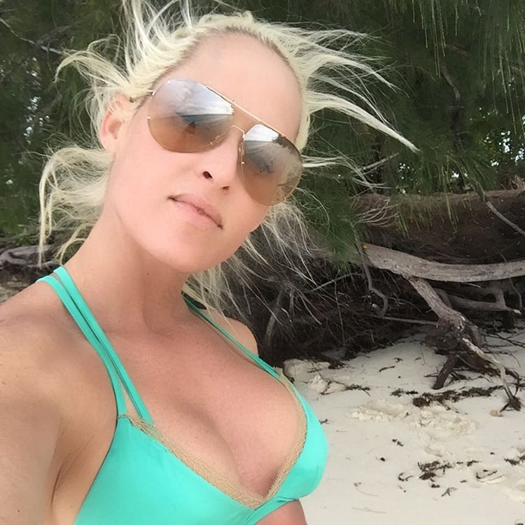 Michelle McCool on Beach