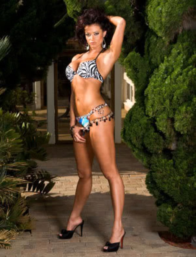 Candice Michelle in Bikini