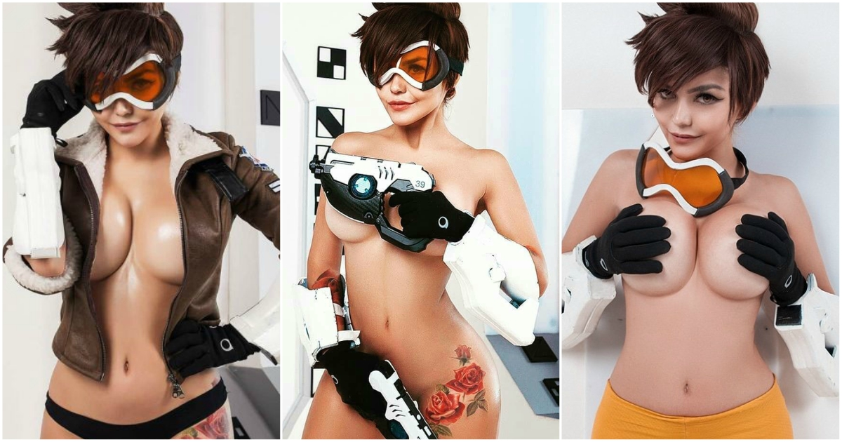47 Hot And Sexy Tracer Cosplays Will Prove She Is Sexiest Video Game Character  Best -2200