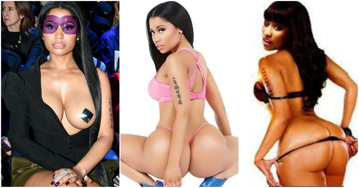 Nicki minaj twerks in just a thong, and gets mauled by twitter