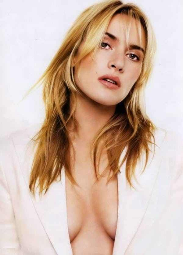 Kate Winslet Hot in White