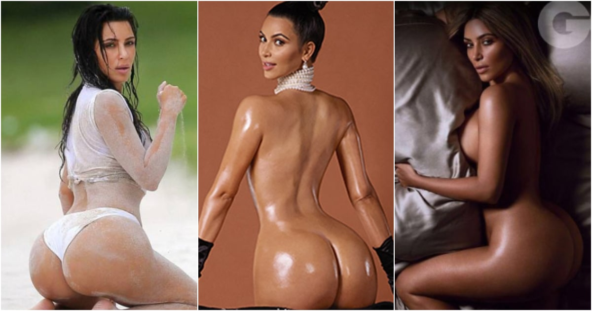 48 Hottest Kim Kardashian Bikini Pictures Expose Her Sexy Fat Booty