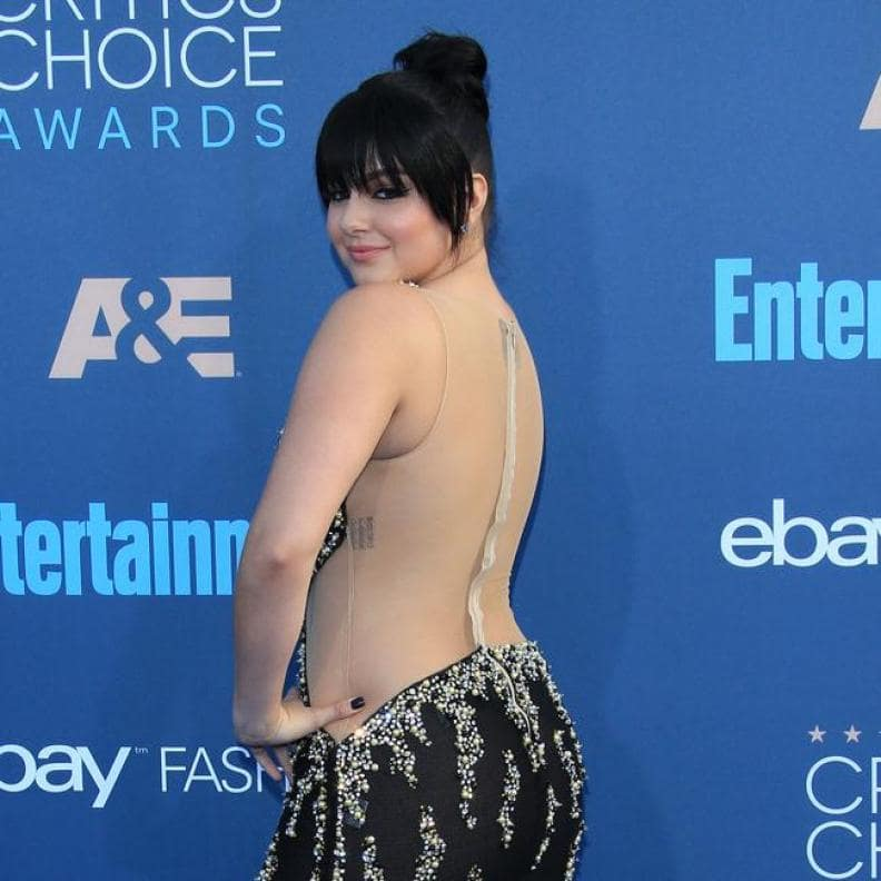 ariel winter hot butt