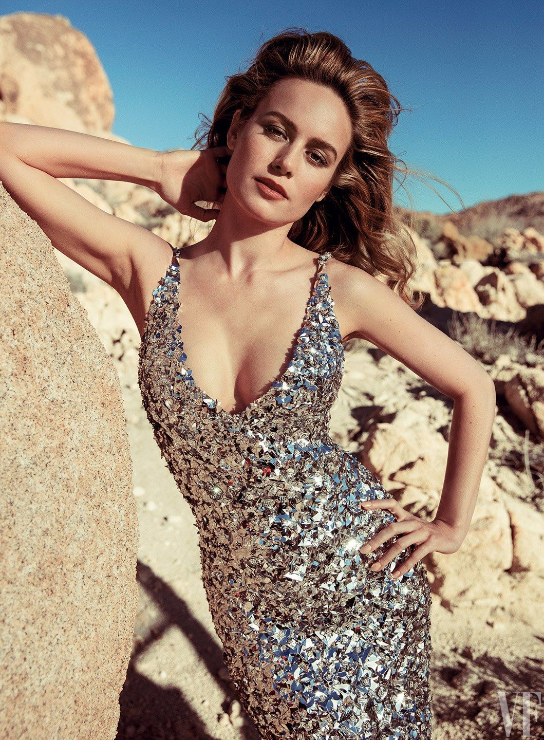 brie larson sexy dress