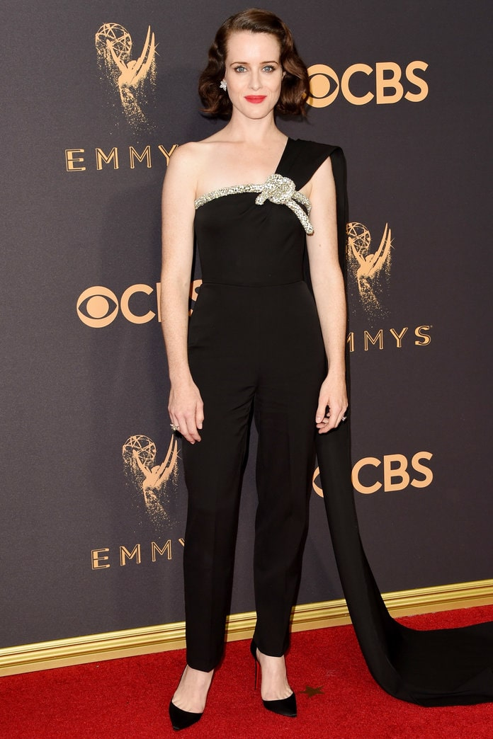 claire foy awesome look
