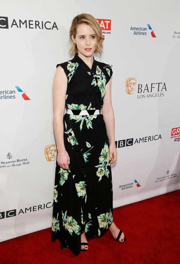 claire foy blonde hair