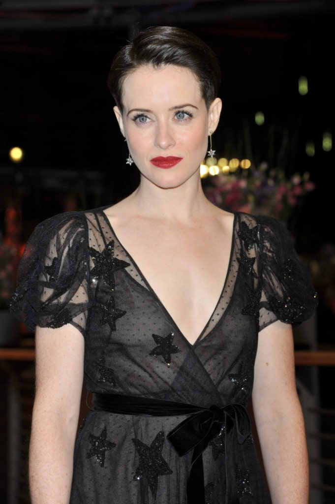 claire foy cleavage pictures