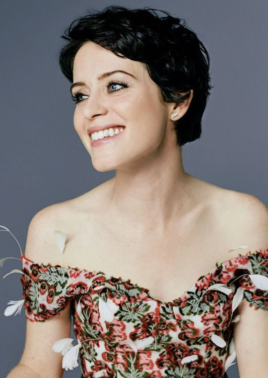 claire foy cleavage