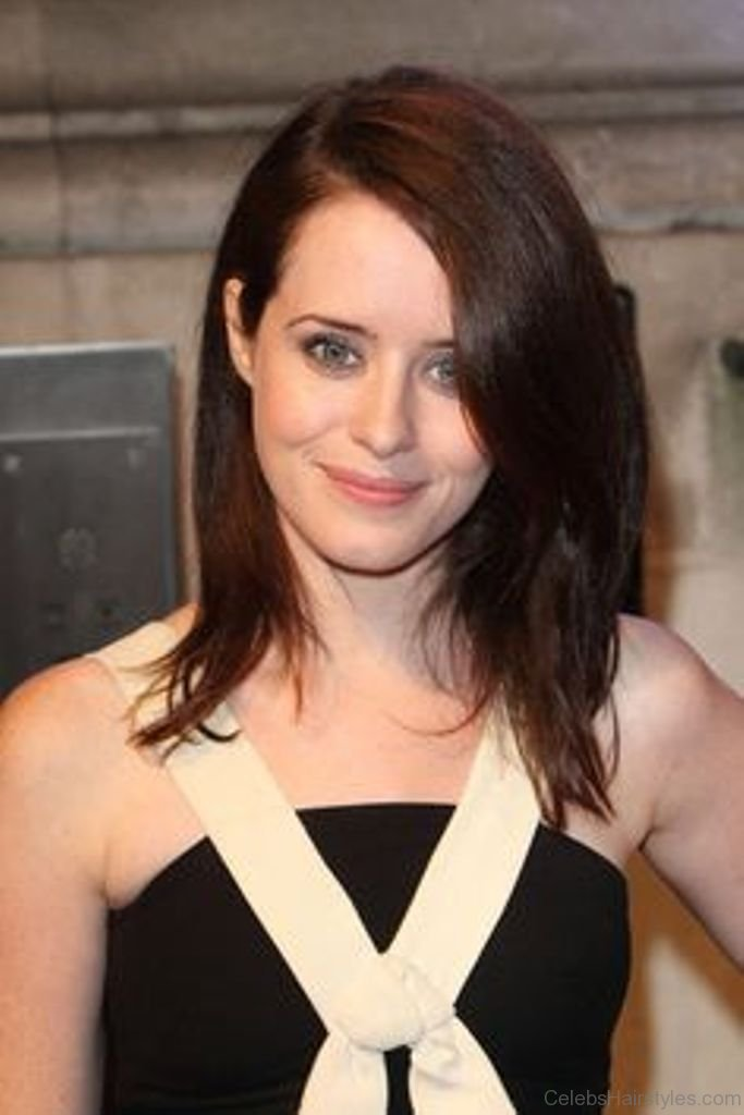 claire foy hairstyle