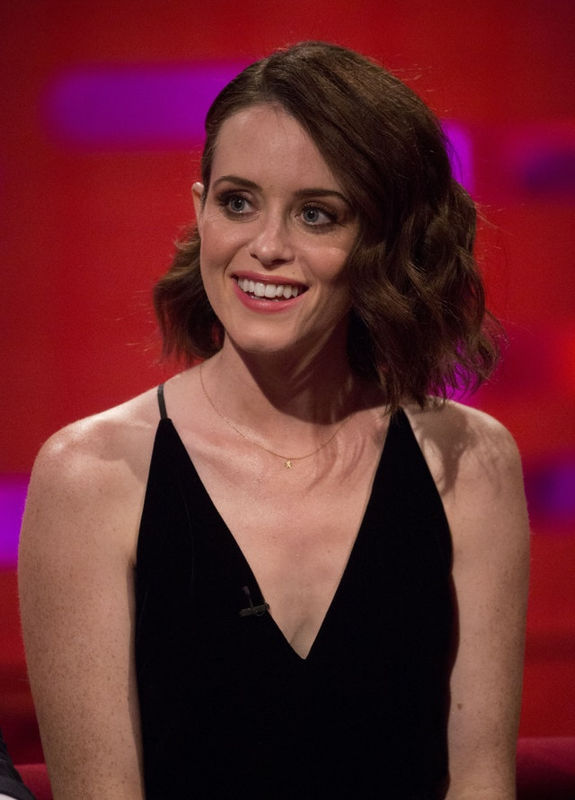 claire foy hot cleavage