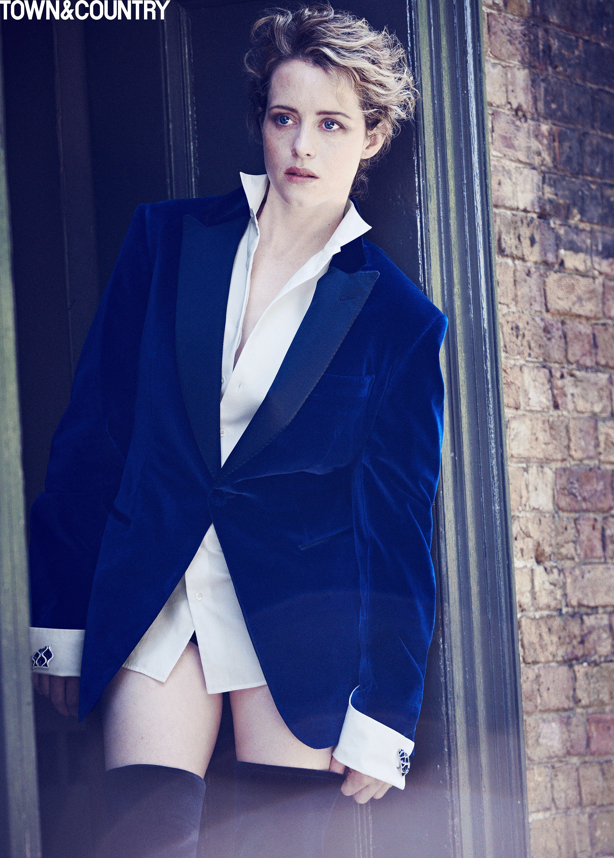 claire foy hot feet