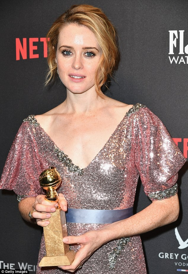 claire foy sexy cleavage