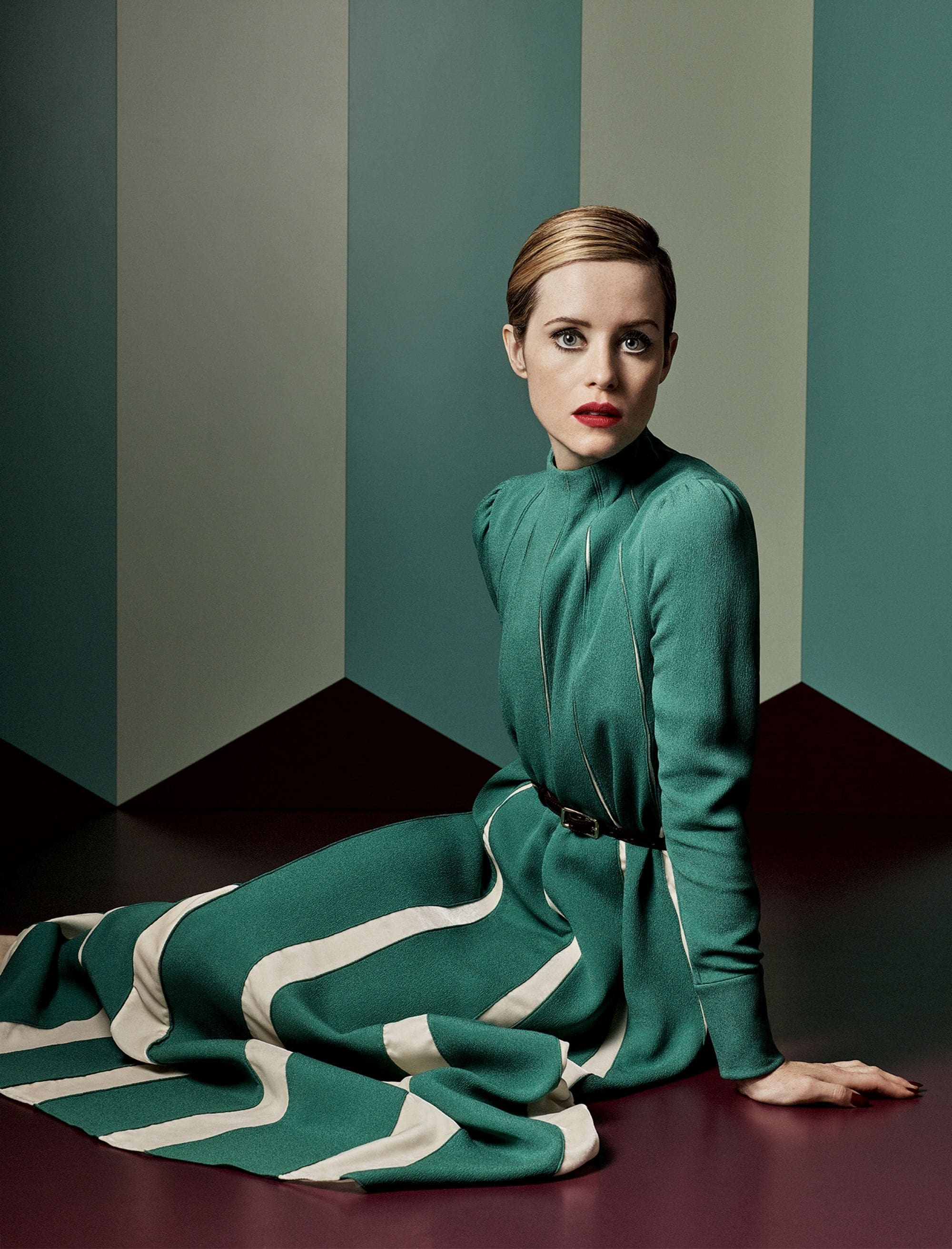 claire foy shocked