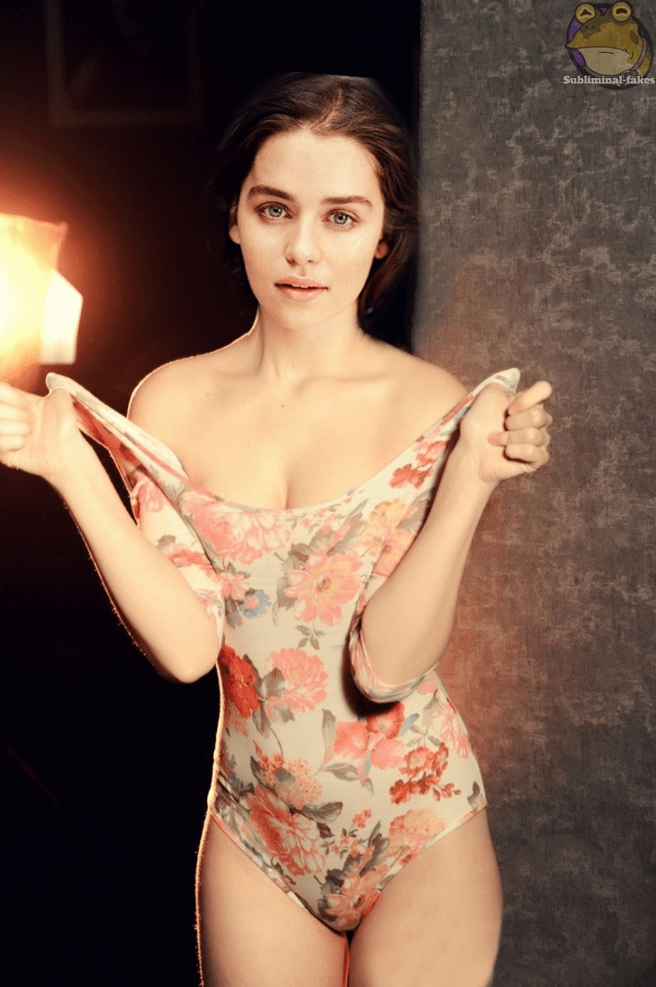 emilia clarke hottie look