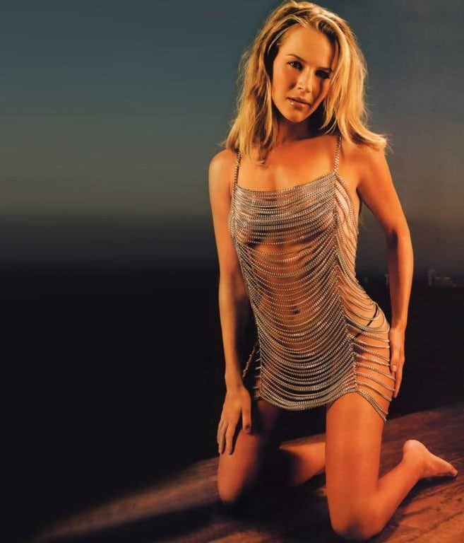 julie benz sexy dress