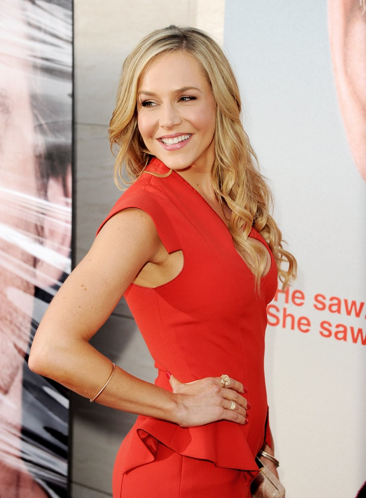 julie benz smile