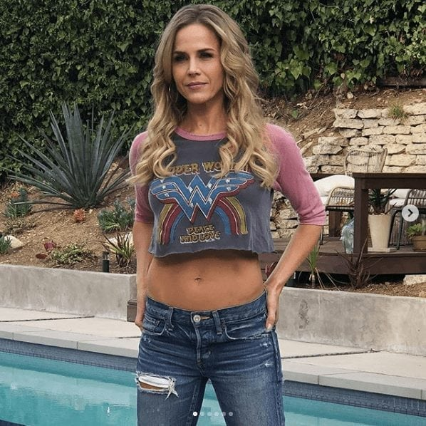 julie benz swimming pool