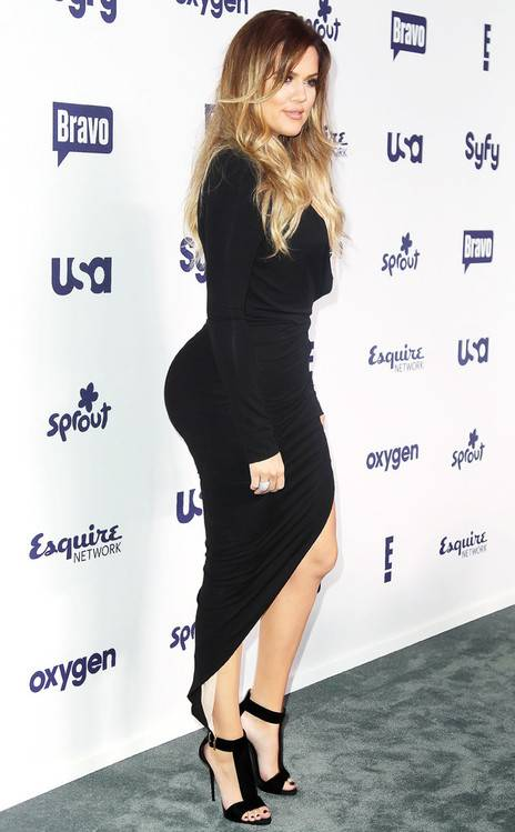 khloe kardashian big butt