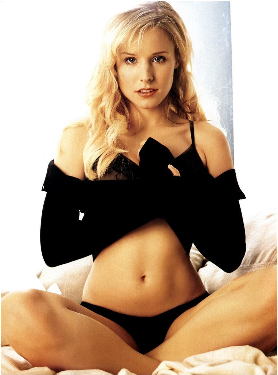 Kristen bell nude boobs good luck!