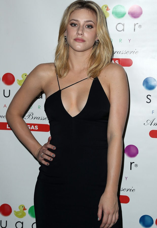 lili reinhart hot cleavage
