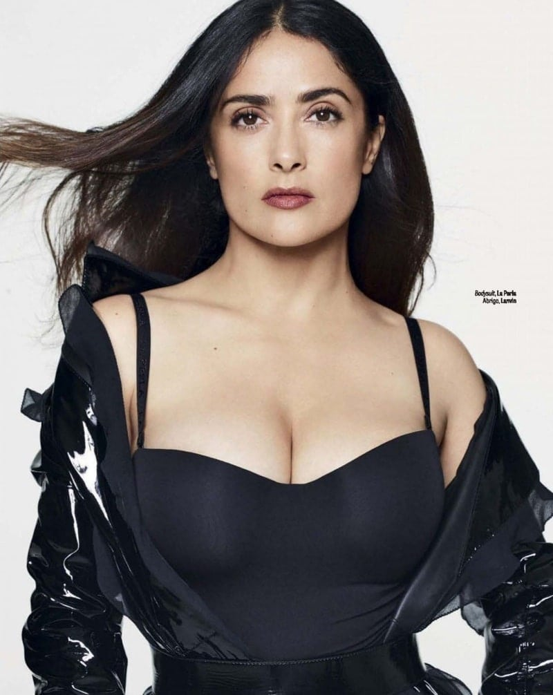 salma hayek hot photoshoot