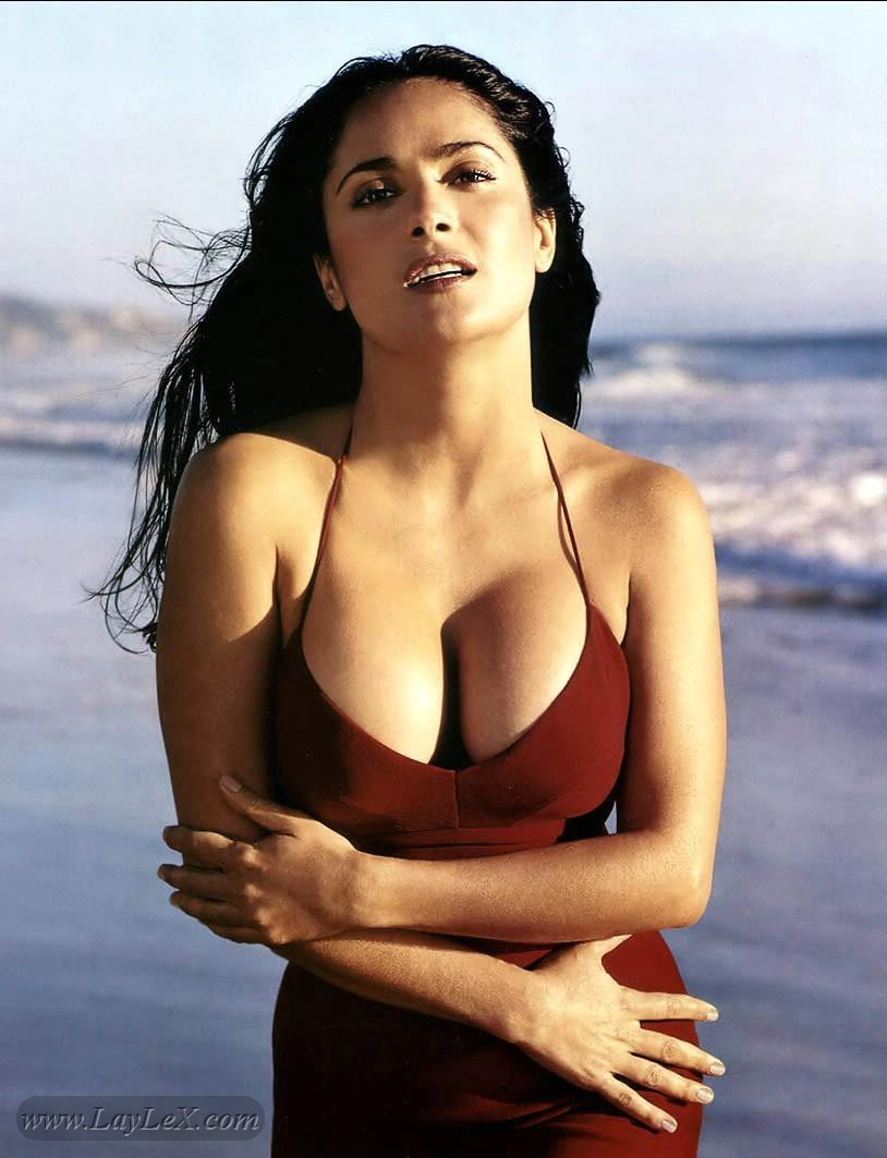 salma hayek swimsuit