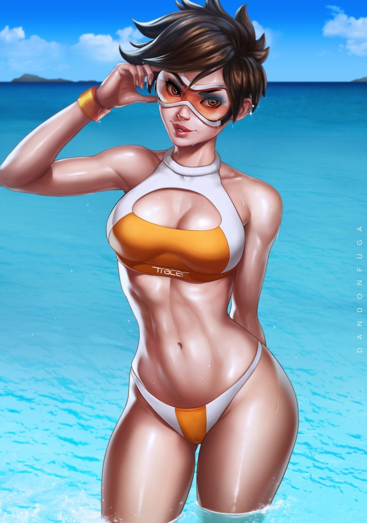 tracer looking hot
