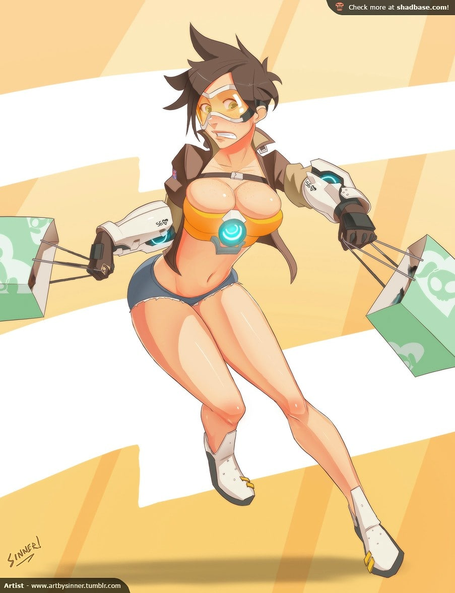 tracer sexy feet
