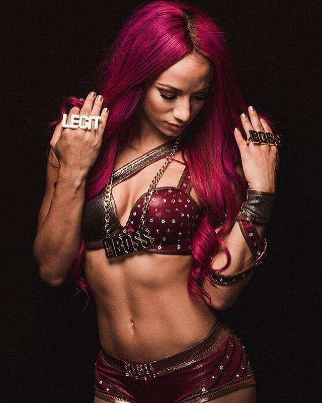 Sasha Banks Hot Pictures