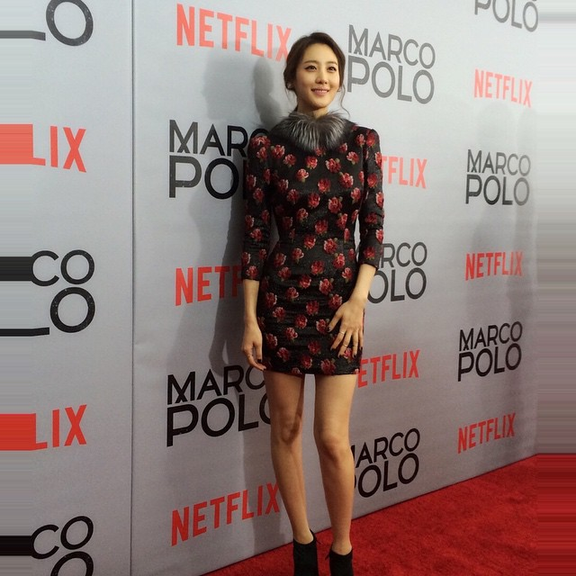 Claudia Kim on Red Carpet