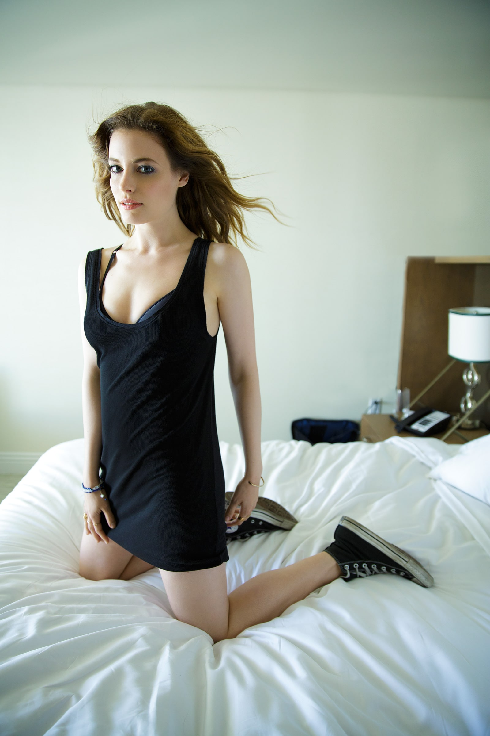 Gillian Jacobs on Bed