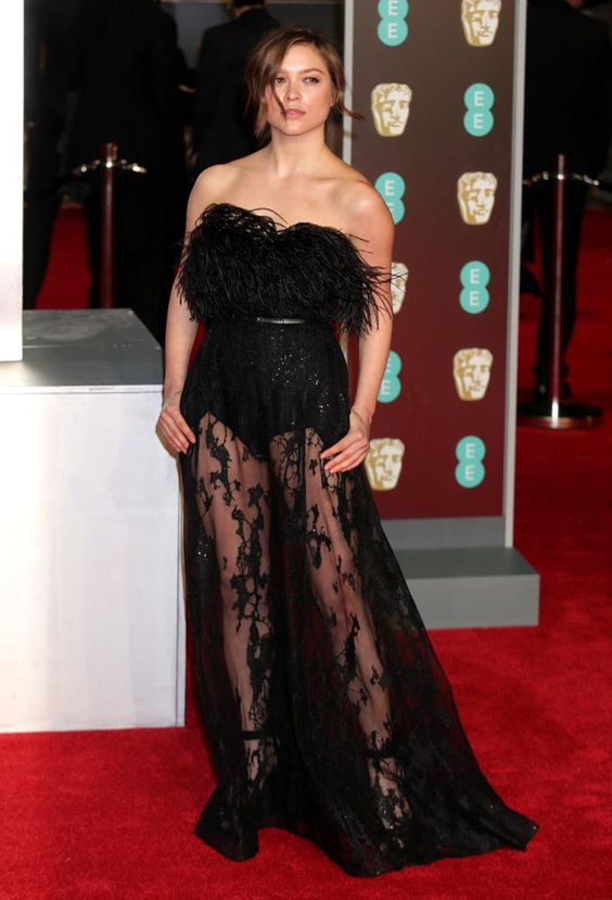 Sophie Cookson on Red Carpet