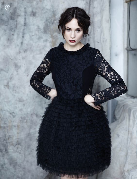 Tuppence Middleton Hot in Black