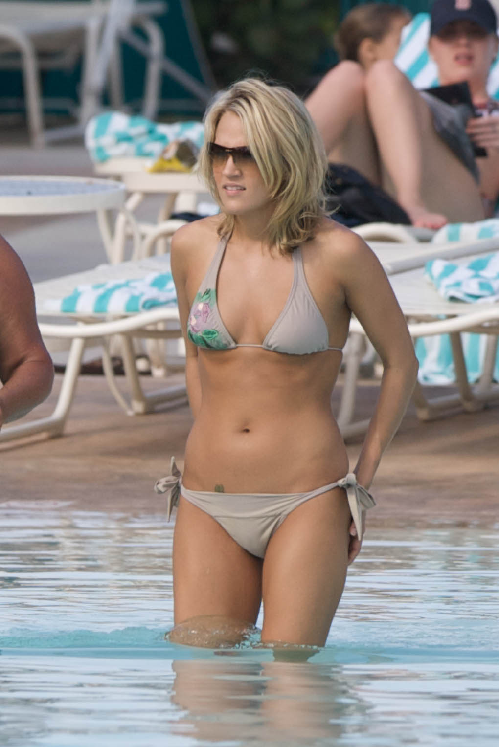 Carrie Underwood on Beach