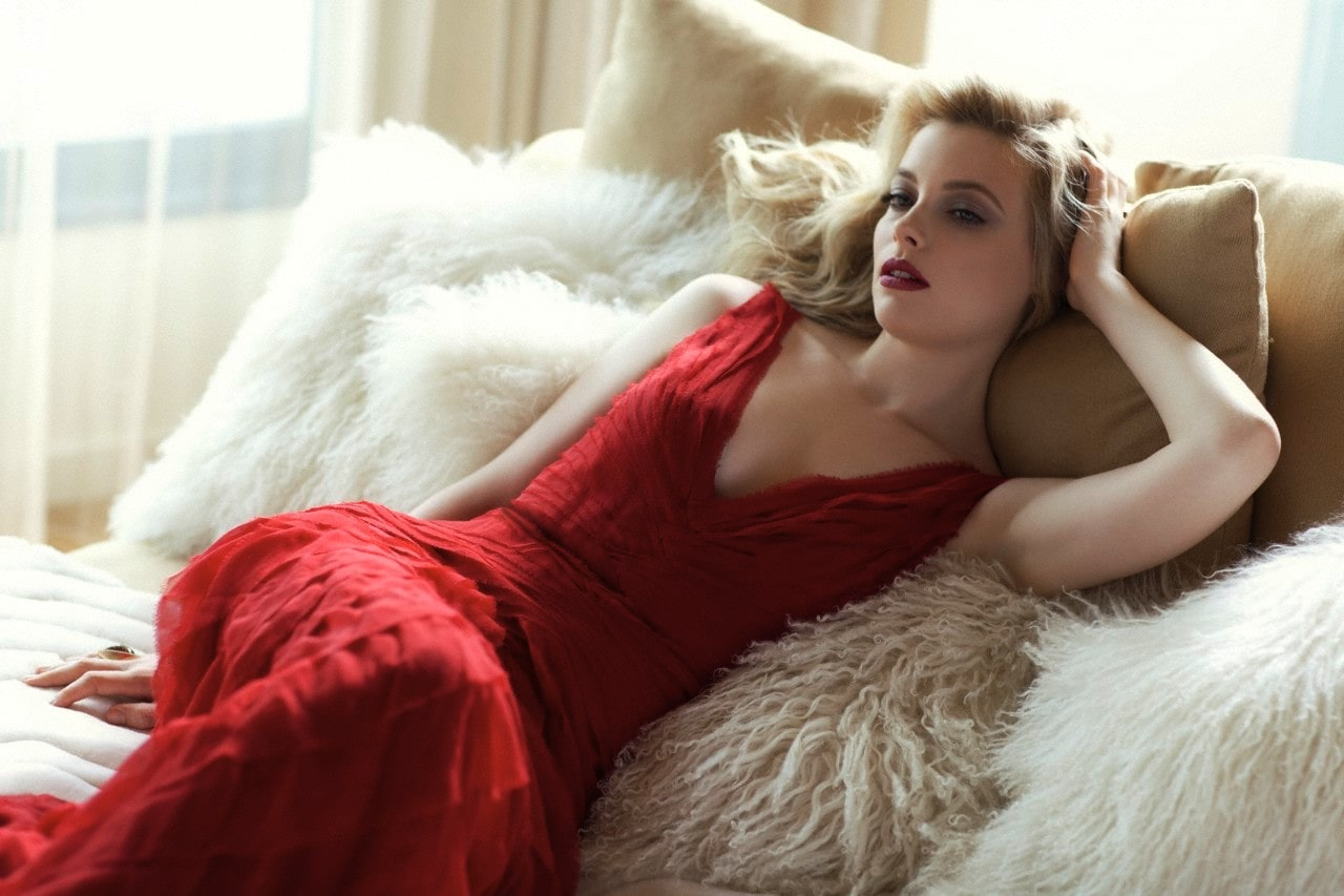 Gillian Jacobs Hot on Red
