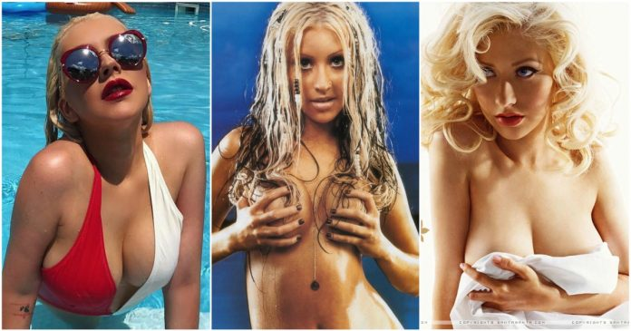 44 Hottest Christina Aguilera Bikini Pictures Will Make You Want Her Now