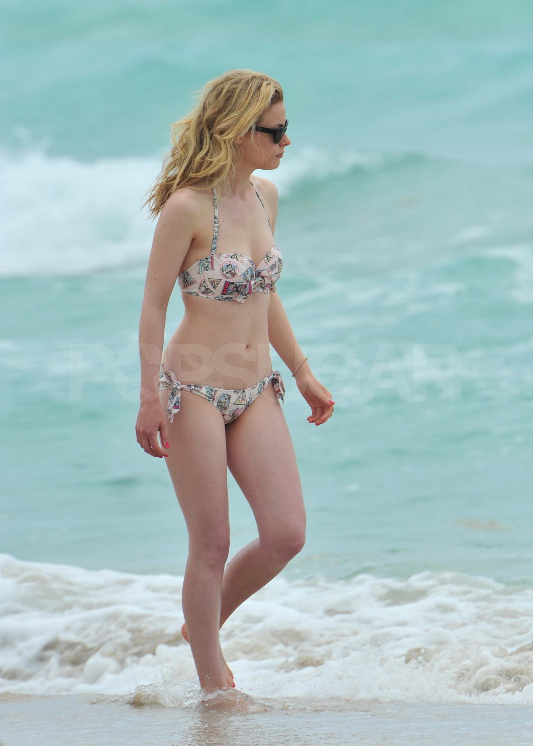 Gillian Jacobs on Beach