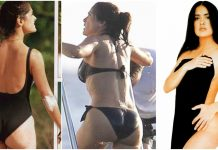 48 Hottest Salma Hayek Big Ass Pictures Which Expose Her Majestic Butt To The World