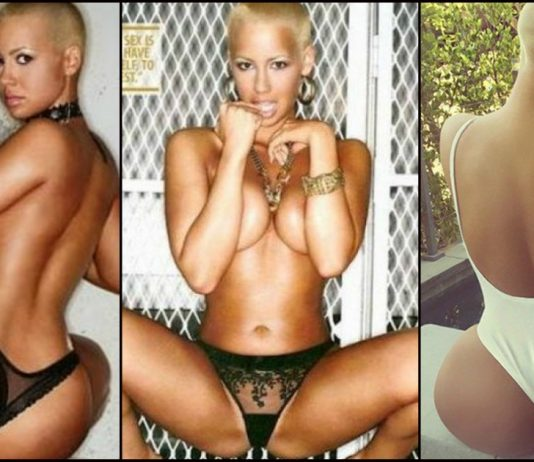 49 Hottest Amber Rose Bikini Pictures Bring Her Big Ass To The Forefront