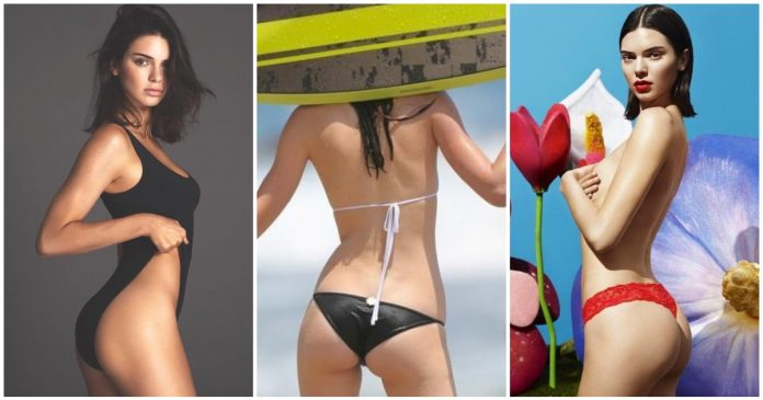 49 Hottest Kendall Jenner Curvy Butt Pictures Are True Definition Of Beauty
