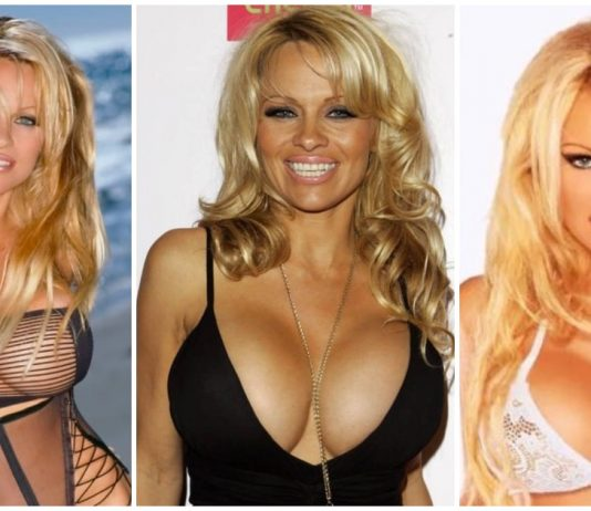 49 Hottest Pamela Anderson Bikini Pictures Explores Her Busty Figure