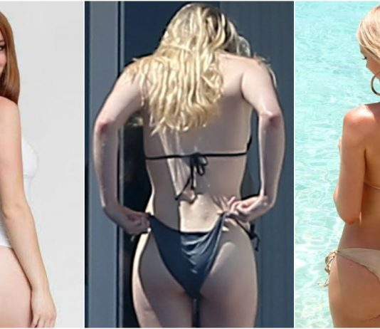 49 Hottest Pictures Of Sophie Turner's Ass Will Make You Believe In God