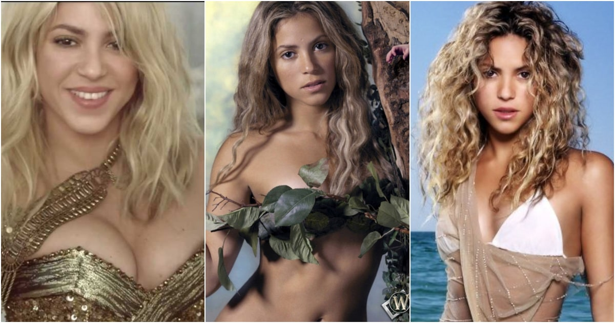 Are not shakira butt naked charming