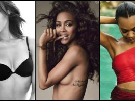 49 Hottest Zoe Saldana Bikini Pictures Are Literally Too Hot To Handle