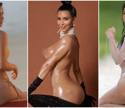 55 Hottest Kim Kardashian Big Butt Pictures Will Hypnotise With Her Enigmatic Beauty