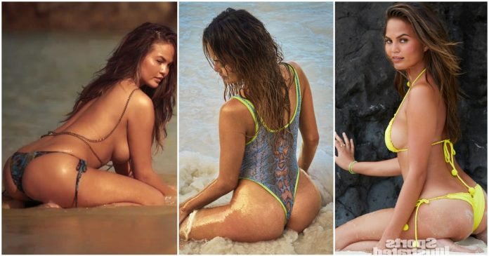 49 Hottest Chrissy Teigen Big Butt Pictures Are Just Too Delicious